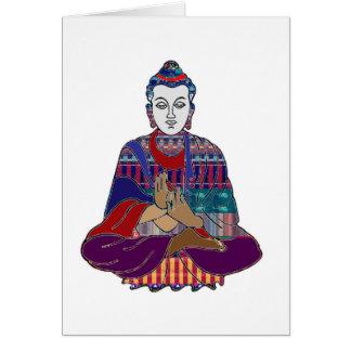 Ledar- andlig NVN659 för BUDDHA buddismlärare Hälsningskort