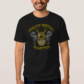 Ledar- dykare för heavy metal t-shirt
