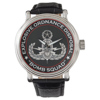 Ledar- EOD bombarderar squaden Armbandsur