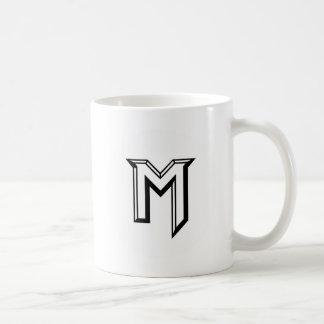 Ledar- M-logotyp Kaffemugg