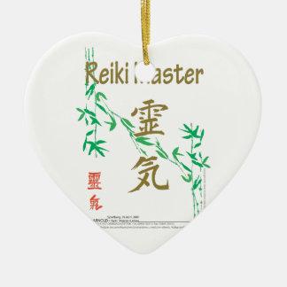 Ledar- Reiki Julgransprydnad Keramik