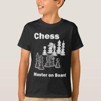 Ledar- schack ombord tee