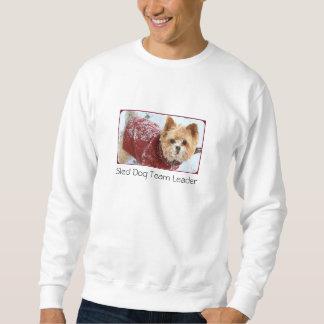 Ledare för Sledhundlag - Yorkie stil Långärmad Tröja