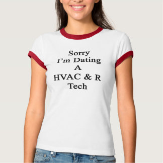 Ledsen I-förmiddag som daterar en Tech för HVAC R Tshirts