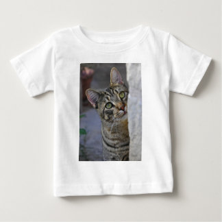 Ledsen kattunge (den bengal katten) t-shirts