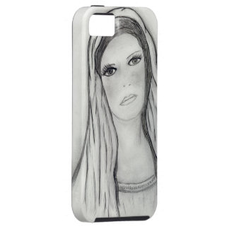 Ledsna Mary iPhone 5 Case-Mate Skydd