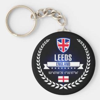Leeds Rund Nyckelring