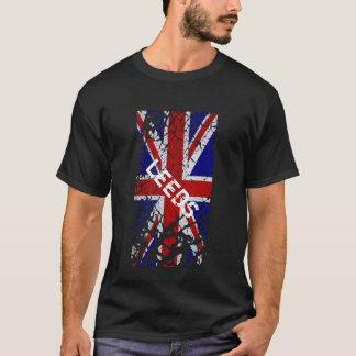 Leeds vintageskalning målar facklig jackflagga tee shirt
