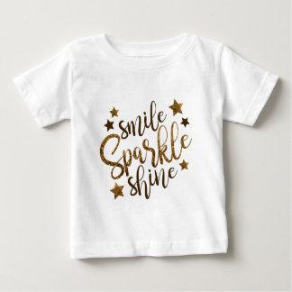 Leende gnistra, sken t-shirts