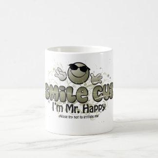leendecuz mig förmiddagHerr lycklig Kaffemugg