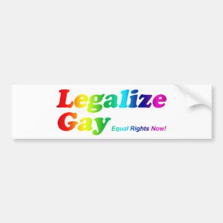 Legaliseraa bög bildekal
