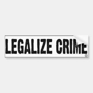 Legaliseraa-Brott Bildekal