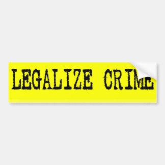 Legaliseraa brotts- bildekal