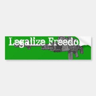 Legaliseraa frihet bildekal