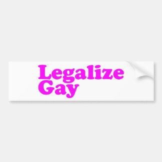 Legaliseraa glada rosor bildekal