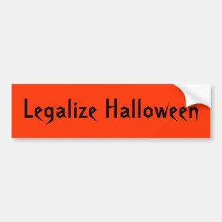 Legaliseraa Halloween klistermärke