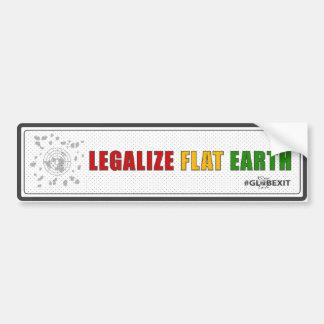 Legaliseraa lägenhetjordbildekal bildekal