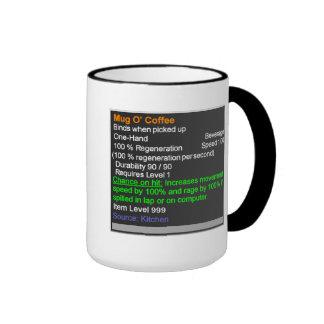 Legendariskt muggO kaffe Ringer Mugg