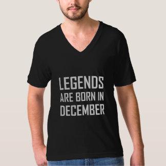 Legender är bördiga December Tshirts