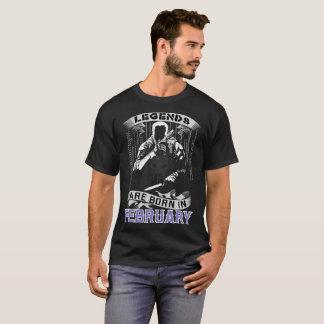 Legender är den bördiga Februari bäst säljande T T Shirts