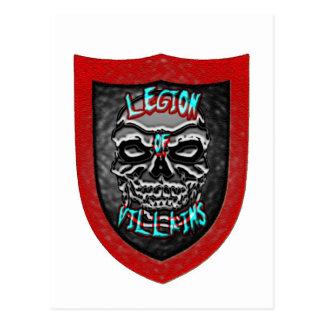 Legion av Villains Vykort