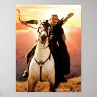 LEGOLAS GREENLEAF™ på hästrygg Poster