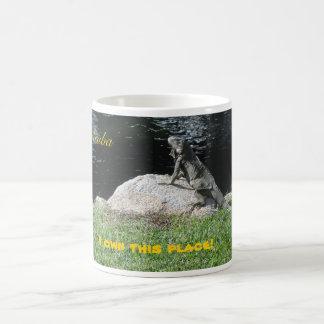 Leguan Aruba Vit Mugg
