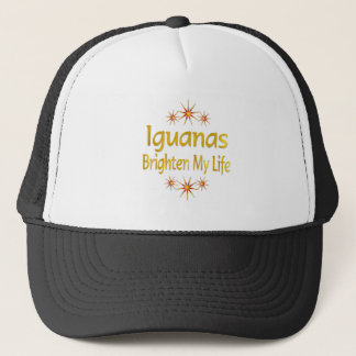 Leguaner ljusnar mitt liv truckerkeps