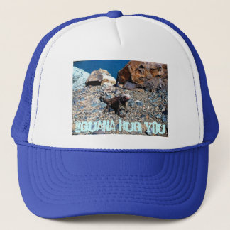 Leguankram dig hatt keps
