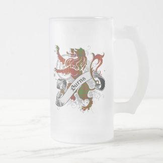 Lejon brännskadaTartan Frostat Ölglas