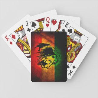 Lejon Cori Reith Rasta reggae Casinokort
