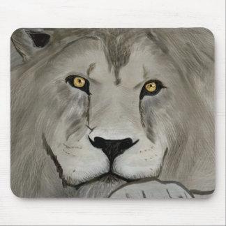 Lejon Digital målning Musmatta