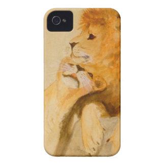 Lejon förälskad #1.jpg iPhone 4 Case-Mate cases