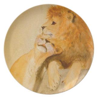Lejon förälskad #1.jpg tallrik