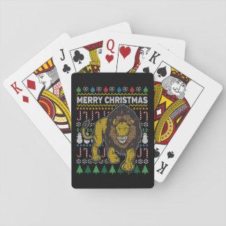 Lejon ful jultröja casinokort