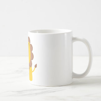 Lejon gullig baby kaffemugg