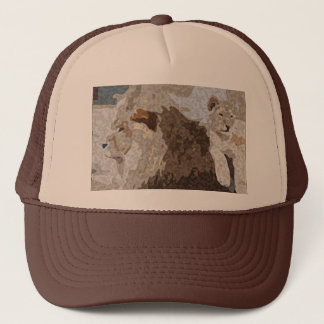 Lejon hatt truckerkeps