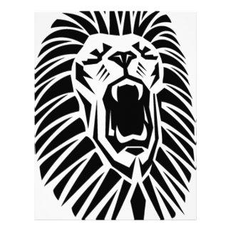 lejon head vecto brevhuvud