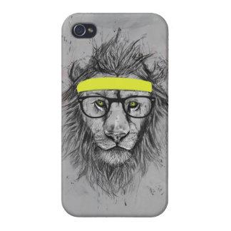lejon hipster iPhone 4 hud