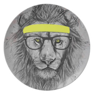 Lejon Hipster Tallrik