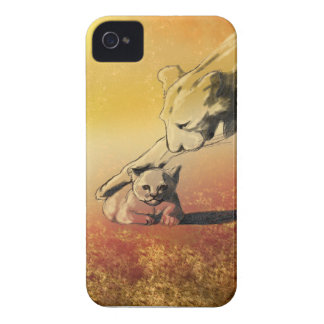 Lejon iPhone 4 Hud