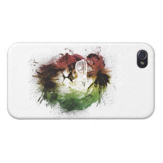 lejon iphone case för rasta iPhone 4 skydd