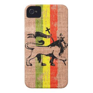 Lejon kung för Reggae Case-Mate iPhone 4 Fodraler