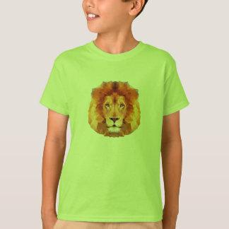 LEJON låg poly design. Lejon illustration T Shirt