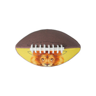 Lion Low Poly Mini Football, 1 Panel