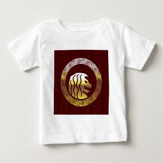 Lejon logotyp för rundavintageroyal tröja