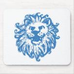Lejon mästare 2 blått mus matta