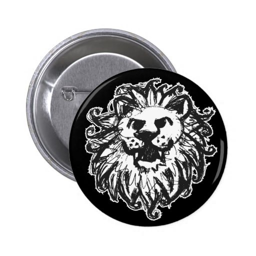Lejon mästare 2 knappar med nål