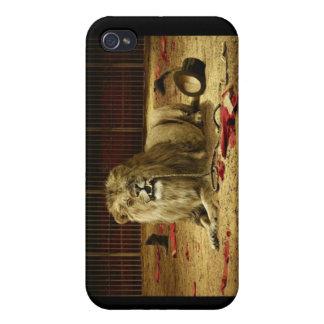 Lejon mer tamer? Var? iPhone 4 Cover
