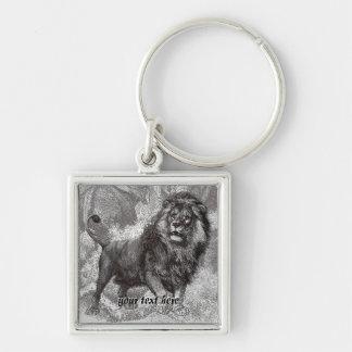 Lejon nyckelring för vintage
